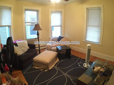Mission Hill Apartment for rent 4 Bedrooms 2 Baths Boston - $4,200